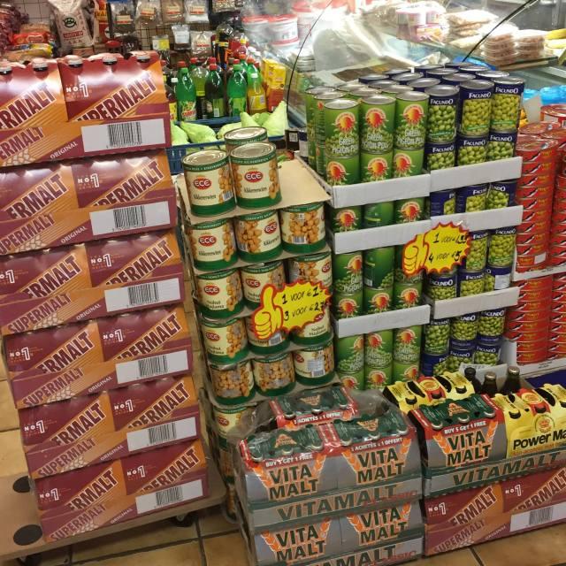 Tropische supermarkt Rotterdam