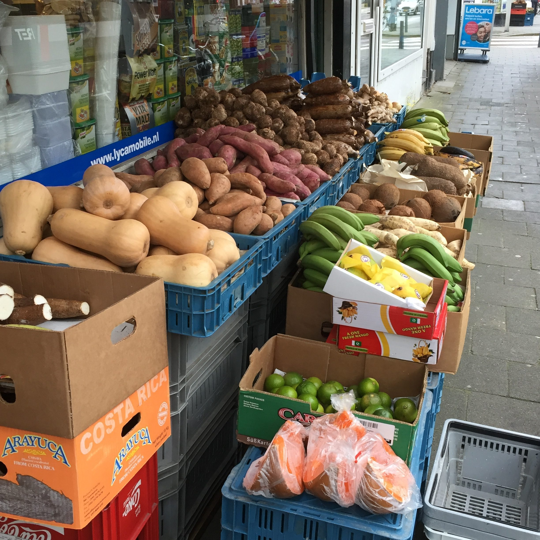 Exotische supermarkt Rotterdam